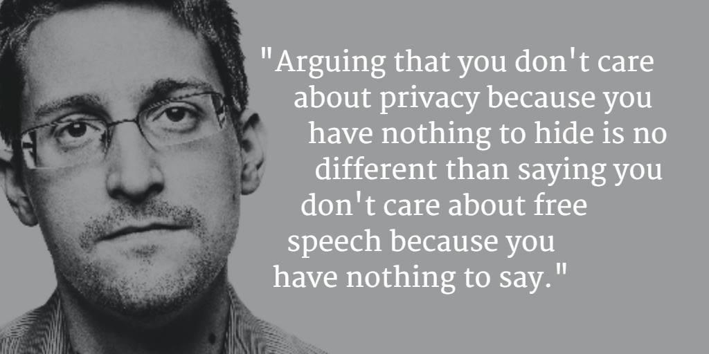 """Nothing To Hide Quotes: Edward Snowden über """"Ich Hab Nichts Zu Verbergen"""