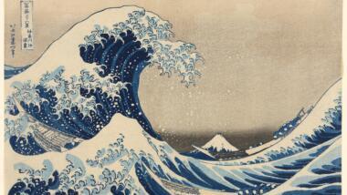 The Great Wave von Katsushika Hokusai