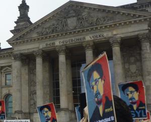 Bundestag Snowden