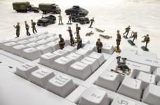 Cyberwar (Symbolbild).