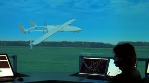 Simulation des DLR vor dem Flug einer