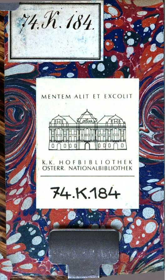 """Cover der Erstausgabe von Goethes """"Werther"""""""
