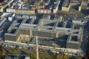 Baustelle der BND-Zentrale in Berlin. Lizenz: Creative Commons BY-SA 3.0 DE.