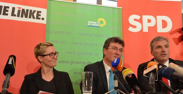 Koalitionsvertrag Thüringen
