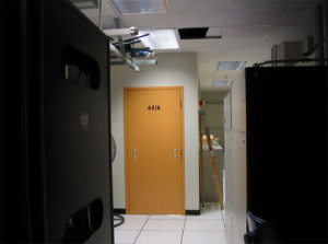 Der Raum 641A in San Francisco, in den AT&T der NSA den kompletten Datenverkehr leitet(e).
