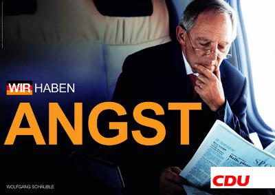 Schäuble Remix-Wahlplakate
