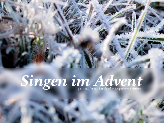 Coverbild Singen im Advent